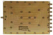 Broadband Wilkinson Combiner/Divider 6/8 Way