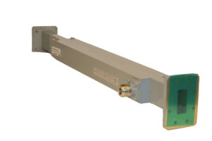 Broadwall Directional Coupler with Coaxial Connector
