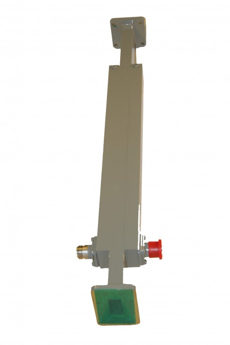 Dual Broadwall Directional Coupler (With Coaxial Connectors)