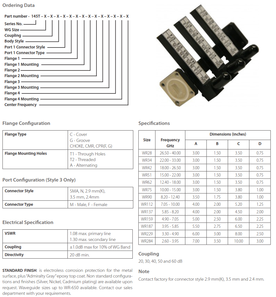 Tripple Arm Cross Guide Coupler _ OrderingMatrix