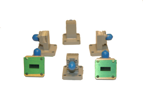 Waveguide to Coaxial SMA Adapters