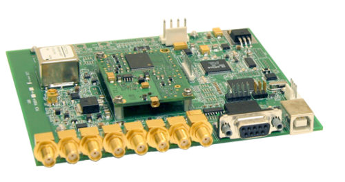 GPS Receiver - OEM Board with BNC Connectors