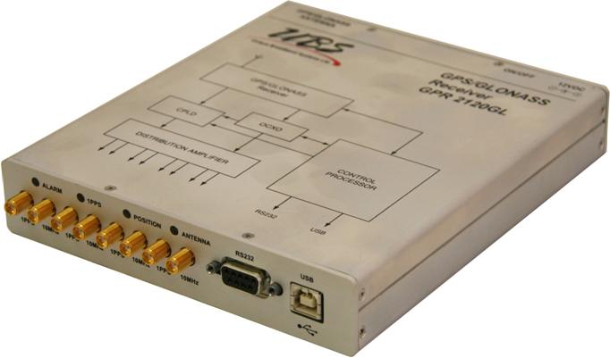 GPSGLONASS Receiver - Enclosed OEM Board-GPR 2120GL