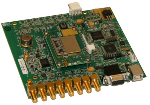 GPS / GLONASS Receiver - OEM Board with BNC Connectors