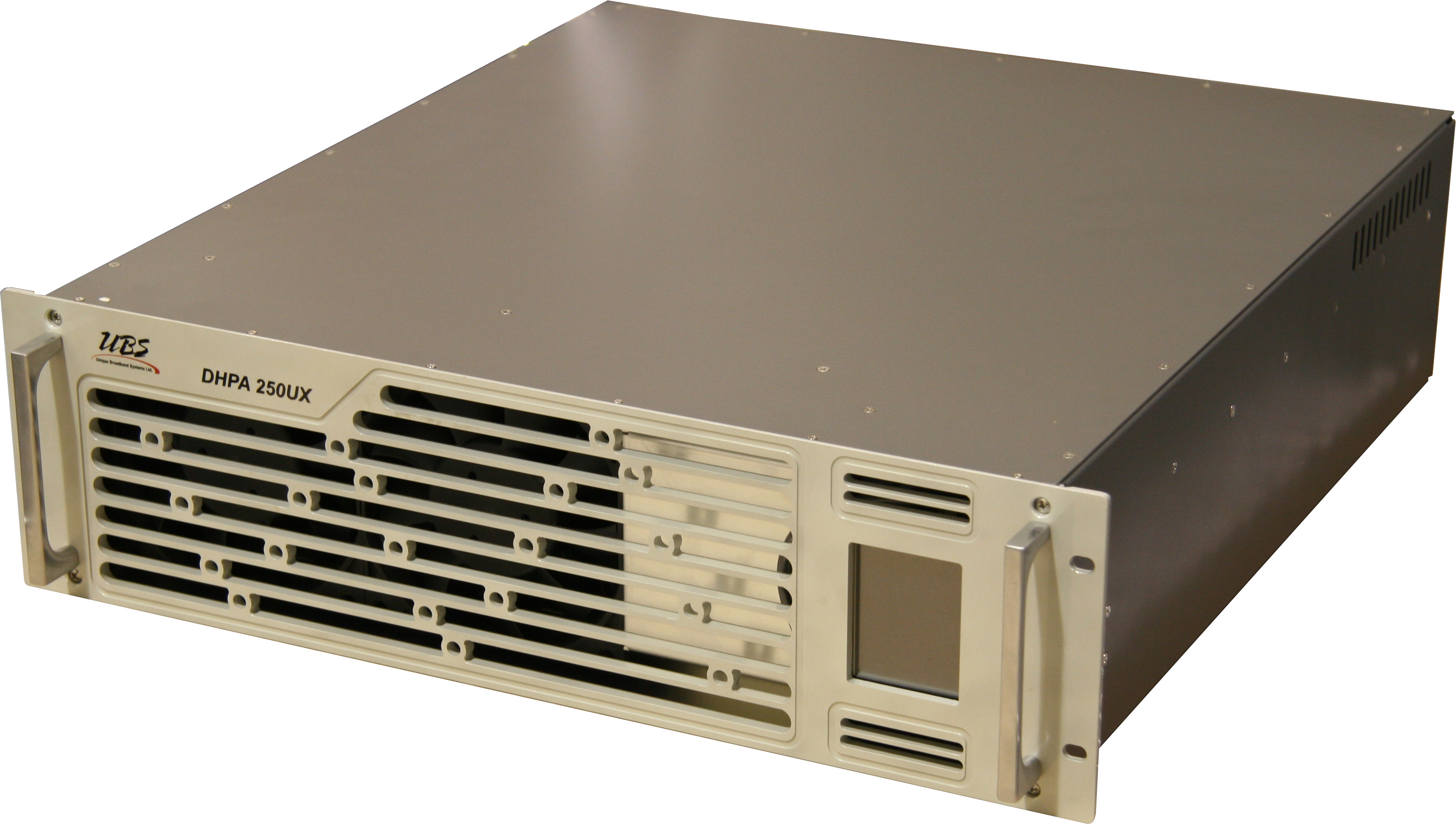 Uhf Band 250w Power Amplifier Unique Broadband Systems