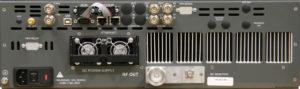 120W UHF Transmitter Rear Panel