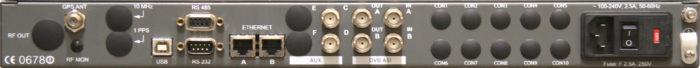 ATSC DTx Adapter Rear Panel
