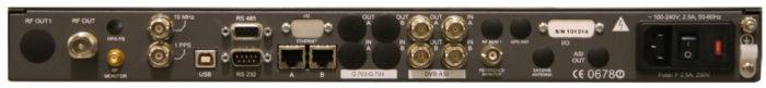 DVBS2 Rear Panel